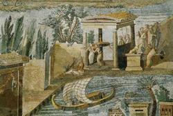 Мозаика из Помпей