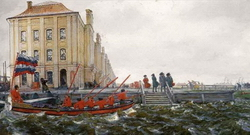 Петербург при Петре I-м (Е.Е. Лансере)