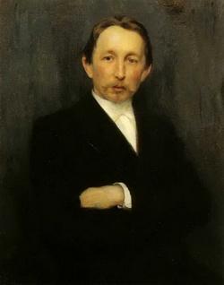 Портрет В.М. Васнецова (Кузнецов Н.Д., 1891)