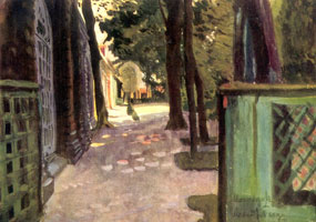 У Монплезира в Петергофе. 1900 г.
