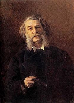 Портрет писателя Д.В. Григоровича (Крамской И.Н.)