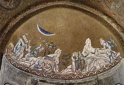История Моисея (византийская мозаика 12 века)