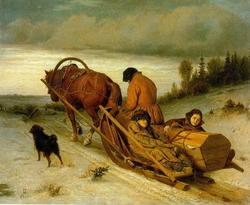 Проводы покойника (Перов В.Г., 1865 г.)