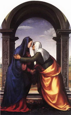 Встреча Марии с Елизаветой (Альбертинелли)
