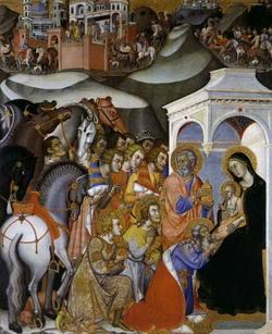 Поклоннение волхвов (Бартолло ди Маэстро Фредди)