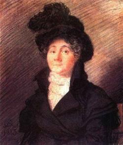 Портрет г-жи Вилло (пастель) (О. Кипренский)