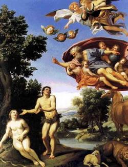 Адам и Ева (Доменикино)