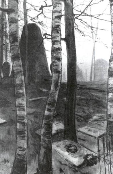 Кладбище (А.Н. Бенуа)
