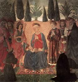 Мадонна с младенцем и со святыми (Алессио Бальдовинетти)