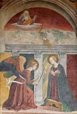 Благовещенье (Мелоццо де Форли)