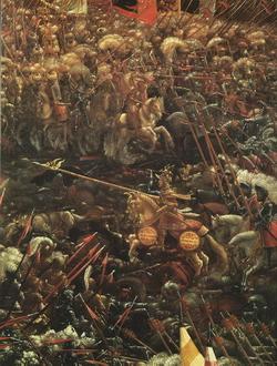 Победа Александра над Дарием (А. Альтдорфер)