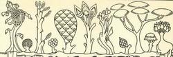 Типы деревьев, встречающиеся в средневековой живописи
