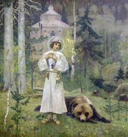 Юность преподобного Сергия (М.В. Нестеров, 1892—1897)