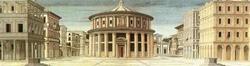 Идеальный город (Неизвестный флорентийский мастер из окружения Пьеро делла Франчески)