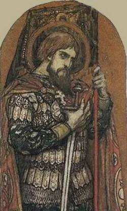 Эскиз росписи Владимирского собора в Киеве