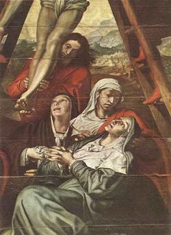 Снятие со Креста (Педро Кампанья)
