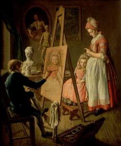Юный живописец (Фирсов И.И.)