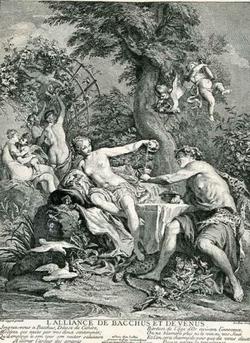 Союз Венеры с Бахусом (Н.Н. Куапель)