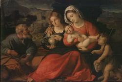 Святое семейство (Пальма Вецци)
