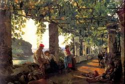 В окрестностях Сорренто близ Кастелламаре (Сильвестр Щедрин, 1828)