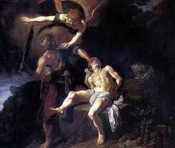 Жертвоприношение Авраама (Питер Ластман)