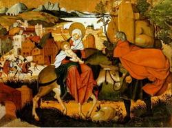 Бегство в Египет (Йорг Бреу, 1501 г.)
