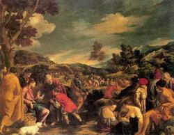 Умножение рыб и хлебов (Педро Оренте)