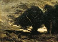 Порыв ветра (К. Коро)