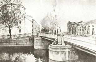 Литовский замок и Новая I Голландия. 1922 г.