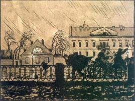 ... Дышал ноябрь осенним хладом. 1916-1922 г.