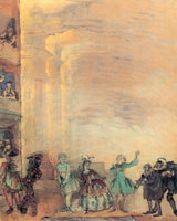 Итальянская комедия. 1916 г.