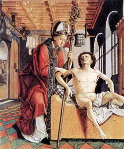 Алтарь отцов Церкви (Михаэль Пахер, ок. 1483 г.)