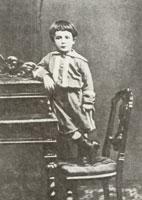 Шура Бенуа. 1875 г.