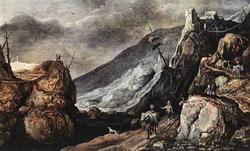 Горный пейзаж (Иоос де Момпер)