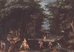 Латона и ликийские земледельцы (Гиллис Конинкслоо)