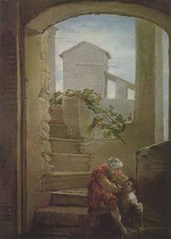 Притча о злом рабе (Доменико Фети)