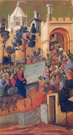 Вход Господень в Иерусалиме (Дуччио)