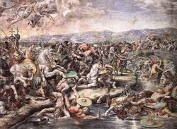 Победа Константина над Максентием (Рафаэль и его ученики)