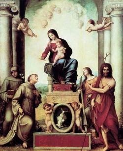 Мадонна святого Франциска (Корреджо)