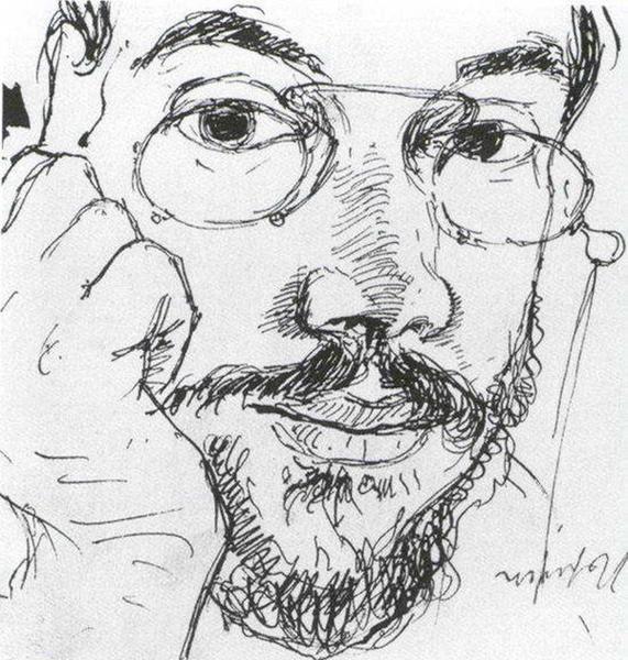 Автопортрет (А.Н. Бенуа)
