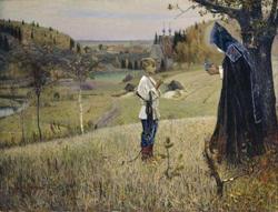 Видение отроку Варфоломею (М.В. Нестеров, 1889)