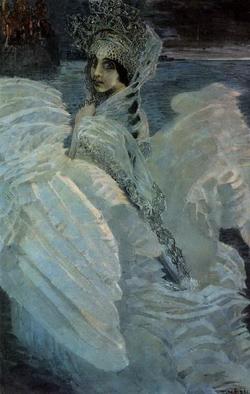 Царевна-Лебедь (М.А. Врубель, 1900)