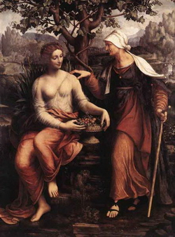 Вертумн и Помона (Ф. Мельци)