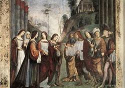 Бракосочетание святой Цецилии (Франческа Франчиа)