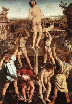 Мучение святого Севастиана (А. Поллайуоло)