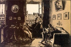 ... Пишу, читаю без лампады... 1916 г.