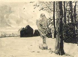 Перекресток Философов зимой: Аквилон. 1922 г.