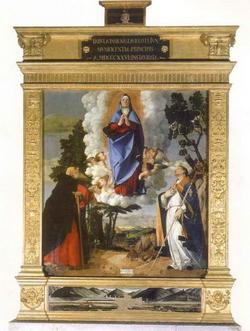 Успение Богородицы (Лоренцо Лотто, 1506 г.).