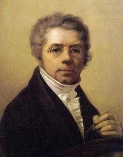 Автопортрет (А.Г. Венецианов, 1811 г.)