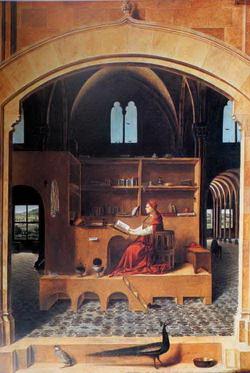 Святой иероним (Антонелло да Мессина)